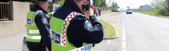 Iz PU vukovarsko-sremske pozivaju građane da predlože lokacije za akciju 24-časovnog nadzora brzine