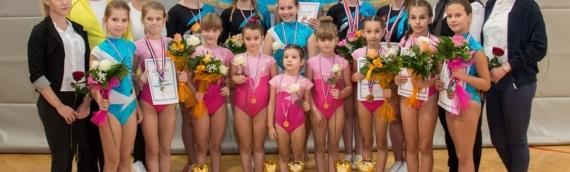 Uspešan vikend za vukovarske gimnastičarke