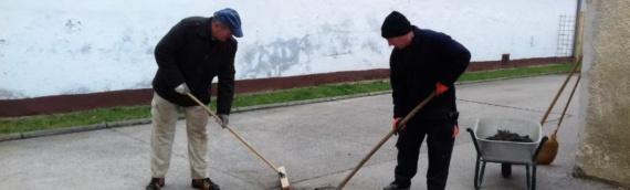 Na javnim radovima u Borovu zaposleno pet osoba