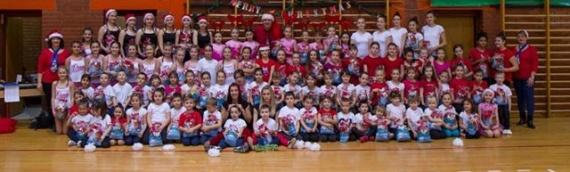 Božićna priredba i završno takmičenje vukovarskog Gimnastičkog kluba