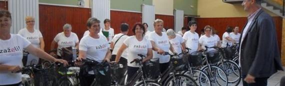 Zaželi i (p)ostani zaposlena žena: Bicikli za lakši obilazak korisnika na području erdutske opštine