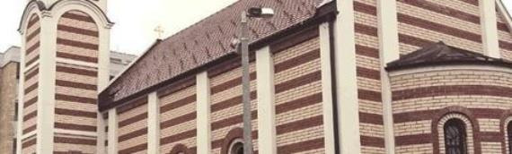 Bogosluženja u hramu Svetog Stefana Dečanskog u Borovu Naselju