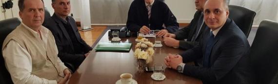 Sastanak predstavnika srpske zajednice sa županom Božom Galićem