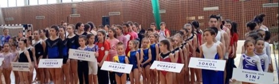 Vukovarske gimnastičarke uspešno započele takmičarsku sezonu
