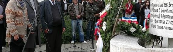 Vukovarski antifašisti obeležili 74.godišnjicu oslobođenja Vukovara i Proboja Sremskog fronta