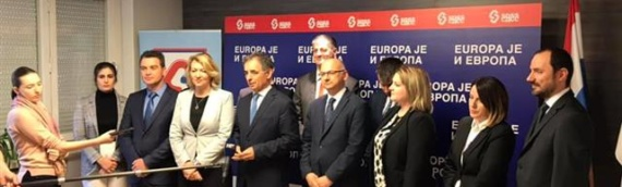 Europa je и Европа: SDSS predstavio listu za evropske izbore