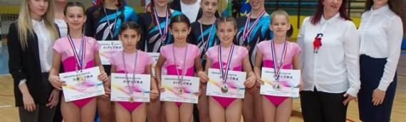 2. kolo Kupa Hrvatske u ženskoj sportskoj gimnastici održano u Vukovaru