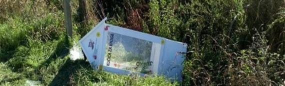 Vandali u Mirkovcima oštetili kućicu za knjige