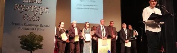 U Vukovaru zatvoreni 22.dani kulture Srba istočne Slavonije, Baranje i zapadnog Srema