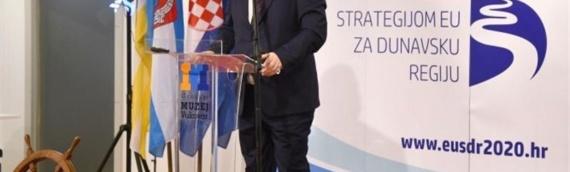 U Vukovaru predstavljeno hrvatsko predsedavanje Strategijom EU za dunavsku regiju