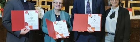 """Županu Boži Galiću uručeno priznanje """"Ban Josip Jelačić"""""""