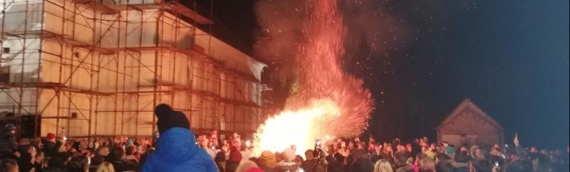 Meštani Borova proslavili Badnjak