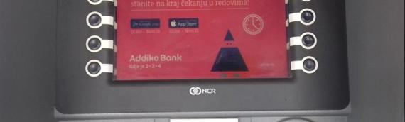 Bankomat Addiko banke uskoro u Tržnom centru u Borovu Naselju?