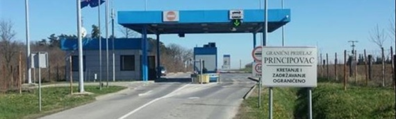 Obaveštenje o obustavljanju saobraćaja na graničnim prelazima