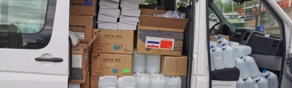 Još jedna pošiljka zaštitne opreme stigla u VSŽ