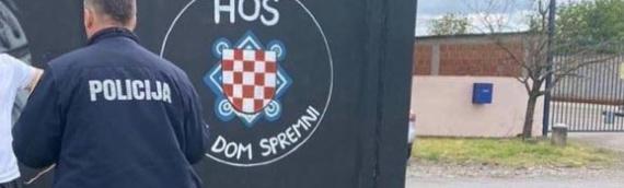Milaković: Grafiti HOS-a s ustaškim pozdravom pokazuju da je Vukovar iznad Ustava i zakona