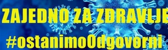 U Hrvatskoj jedan novi slučaj zaraze koronavirusom, u Vukovarsko-sremskoj županiji nema novoobolelih