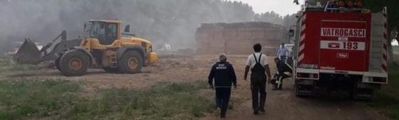 Požar na farmi između Borova i Dalja pretio da zahvati objekte i životinje