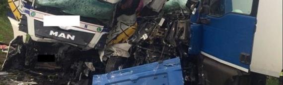 U sudaru dva teretna vozila na vukovarskoj obilaznici vozači zadobili teže povrede