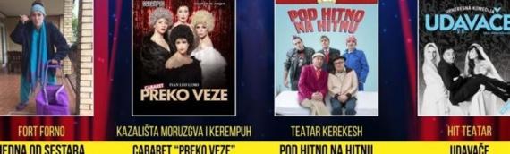 Dani smeha: Od 23. do 27. juna u Vukovaru četiri hit predstave