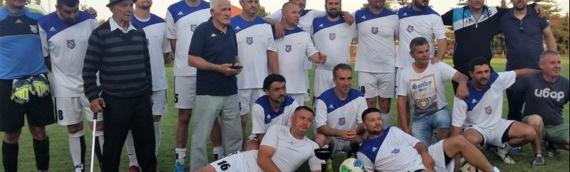 FK Sinđelić iz Trpinje pobednik završnice Lige veterana ZVO-a
