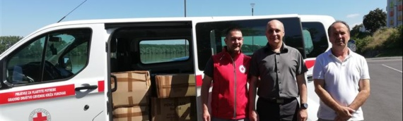 U Zajedničko veće opština stigla donacija školskog pribora iz Subotice