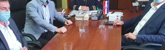 ZVO: Sastanak sa načelnikom PU vukovarsko-sremske