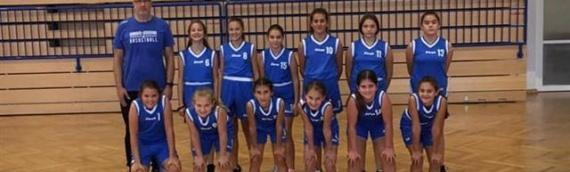 Pobeda mladih košarkašica Škole košarke KK Borovo