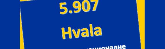 Županijsko Veće srpske nacionalne manjine prikupilo 5.907 potpisa podrške za ravnopravne regije u Evropi