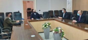 Delegacija ZVO-a i SDSS-a razgovarala sa županom Božom Galićem