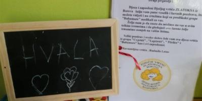Mališani iz Borova poslali vršnjacima u Vrginmostu paket ljubavi i lepih želja