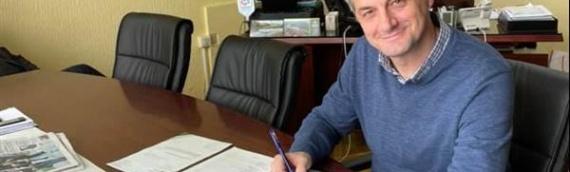 "Načelnik Jugoslav Vesić potpisao Ugovor o dodeli sredstava za projekat ""Š-OLD-ER"""