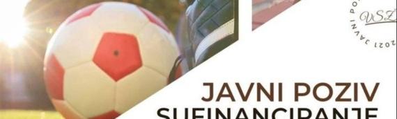 VSŽ: Javni poziv za sufinansiranje programa i aktivnosti iz područja sporta u 2021. godini