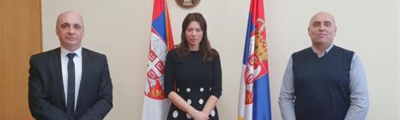 Sastanak predsednika ZVO i ministarke zaštite životne sredine Srbije
