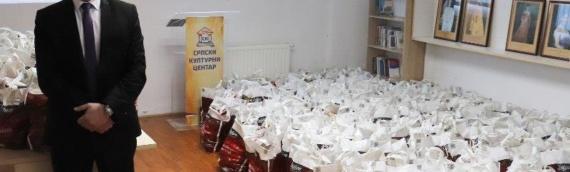 ZVO: Podela humanitarnih paketa