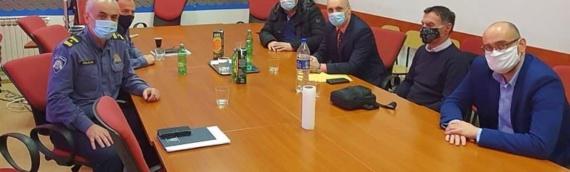 Sastanak predstavnika ZVO, SDSS-a i VSNM Grada Vukovara s načelnikom PU vukovarsko-sremske