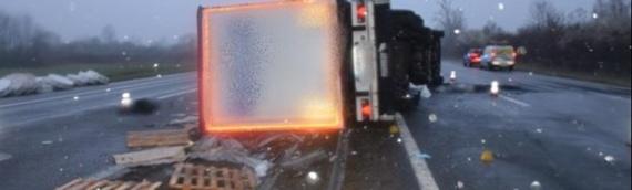 Za nesreću na auto-putu kod Okučana kriv 42-godišnji vozač iz Srbije
