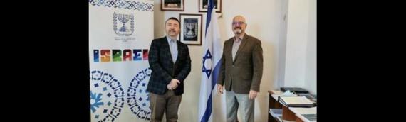 Dekan vukovarskog Veleučilišta na sastanku u ambasadi Izraela