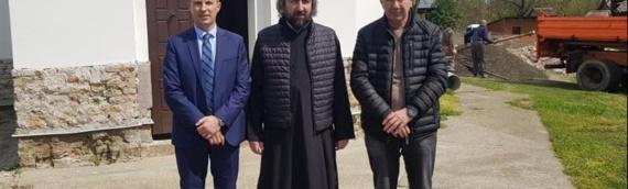 Predstavnici Opštine Borovo obišli radove na obnovi hrama Svetog Stefana
