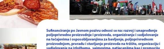 Konkurs VSŽ za projekte i programe u poljoprivredi