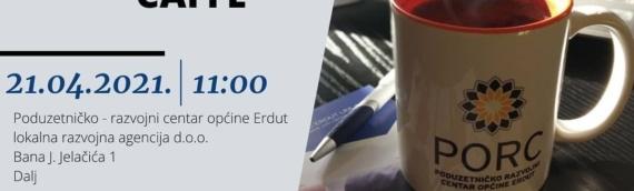 Dalju: U sredu, 21. aprila EDU-BIZ.ER CAFFE