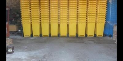 U Borovo stigle žute kante za plastiku