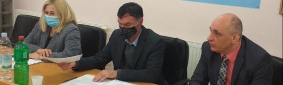 Kandidat SDSS-a za zamenika župana VSŽ Srđan Jeremić, nositeljka liste za Skupštinu Dragana Jeckov