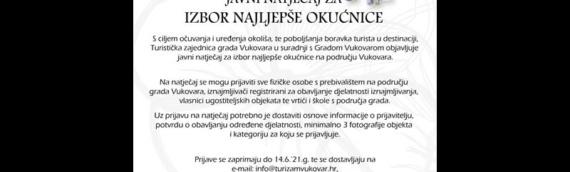 Turistička zajednica Grada Vukovara bira najokućnicu