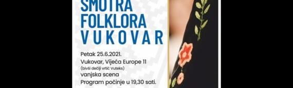 Ansambl narodnih igara Vukovar poziva na 22. Međunarodnu smotru folklora