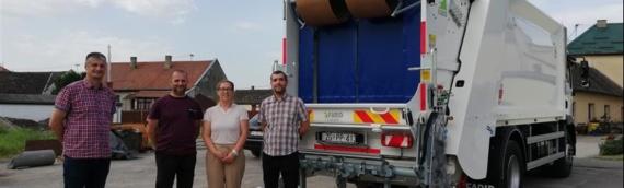 Komunalno preduzeće Čvorkovac nabavilo novo komunalno vozilo za potrebe odvojenog prikupljanja otpada na području opštine Erdut