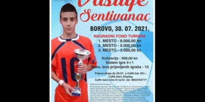 Počinje prvi memorijalni turnir Vasilije Sentivanac