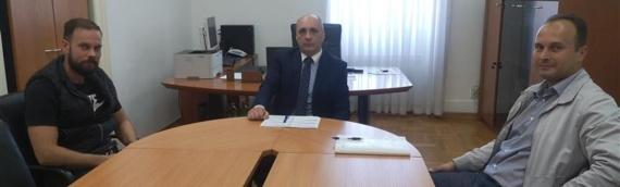 Zamenik župana Srđan Jeremić sastao se sa predstavnicima firme Eko-sustav d.o.o.