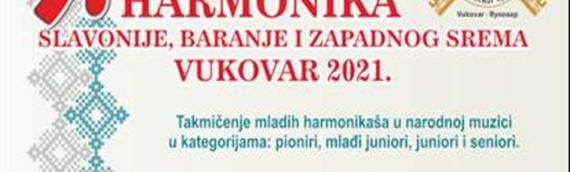 """U nedelju 3. oktobra – 9. Međunarodni festival """"Prva harmonika Slavonije, Baranje i zapadnog Srema"""""""